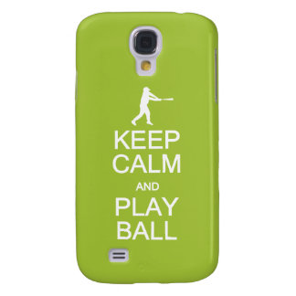 Keep Calm & Play Ball custom cases
