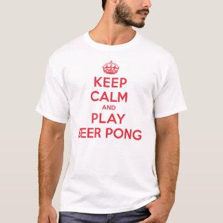 Keep Calm Play Beer Pong T-Shirt