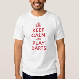 Keep Calm Play Darts T Shirt