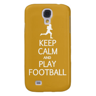 Keep Calm & Play Football custom color HTC case