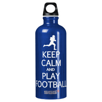 Keep Calm & Play Football SIGG Traveller 0.6L Water Bottle