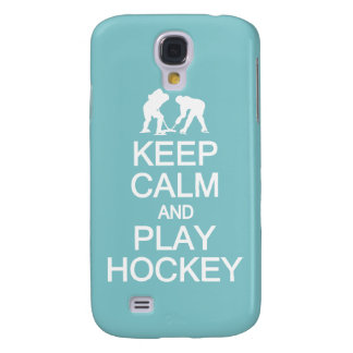 Keep Calm & Play Hockey custom color HTC case