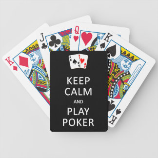 Keep Calm & Play Poker playing cards