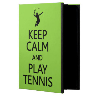 Keep Calm & Play Tennis custom color cases iPad Air Covers