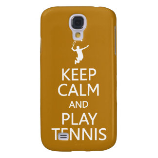 Keep Calm & Play Tennis custom color HTC case