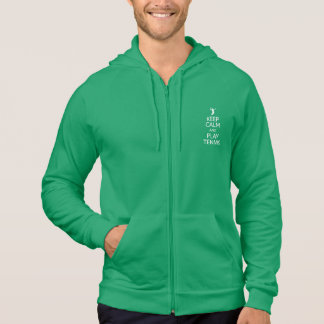 Keep Calm & Play Tennis hoodie - choose color