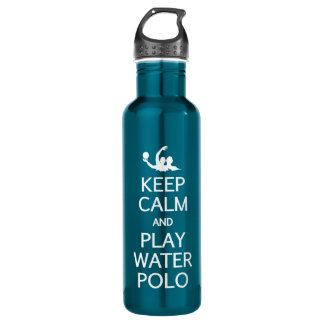 Keep Calm & Play Water Polo 710 Ml Water Bottle