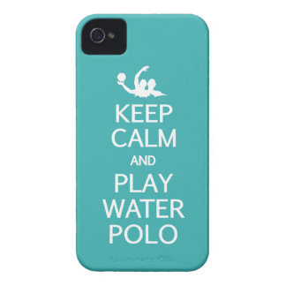 Keep Calm & Play Water Polo custom Blackberry case