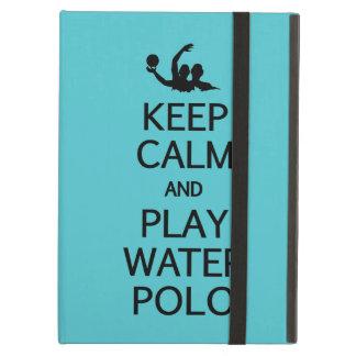 Keep Calm & Play Water Polo iPad case