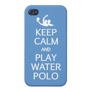 Keep Calm & Play Water Polo iPhone cases