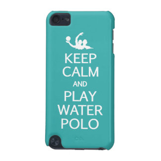 Keep Calm & Play Water Polo phone cases