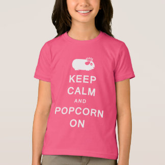 Keep Calm & Popcorn On Children's T-Shirt