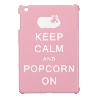 Keep Calm & Popcorn On iPad Mini Cover