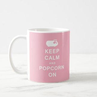 Keep Calm & Popcorn On Mug