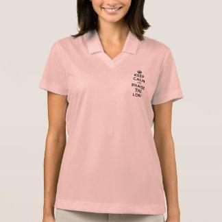 Keep Calm & Praise The Lord Polo T-shirt