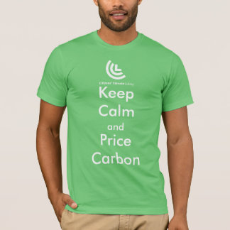 Keep Calm & Price Carbon Men's T-Shirt (Green)