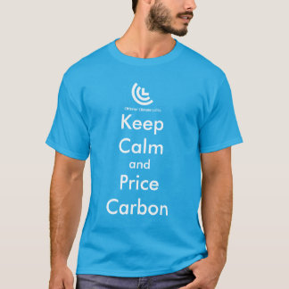 Keep Calm & Price Carbon Tee Shirt (Blue)