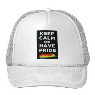 Keep Calm Pride Hat