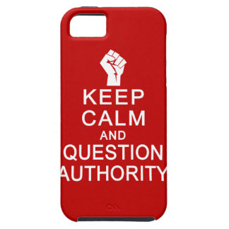 Keep Calm & Question Authority iPhone 5 Case-Mate