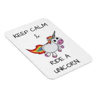 Keep Calm Rectangular Photo Magnet
