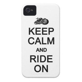 Keep Calm & Ride On Blackberry Bold case