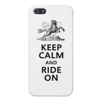 Keep Calm & Ride On Cover For iPhone 5/5S