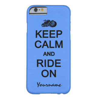 Keep Calm & Ride On custom color cases