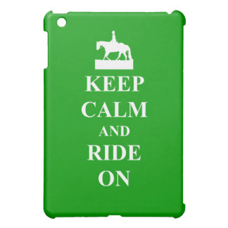 Keep calm & ride on iPad mini case