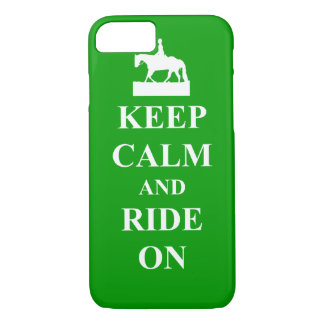 Keep calm & ride on iPhone 8/7 case