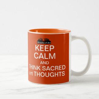 KEEP CALM - Sacredart Mug