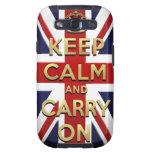 Keep Calm Samsung Galaxy S3 Cases