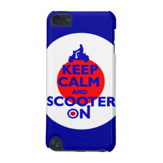 Keep Calm Scooter on Mod target iPod Touch (5th Generation) Covers