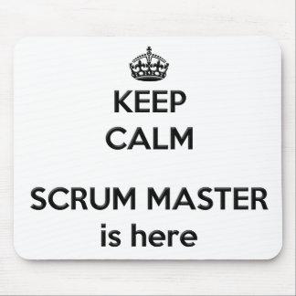 Keep Calm Scrum Master Mousepad
