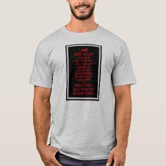 Keep Calm - Sean Of The Dead T-Shirt