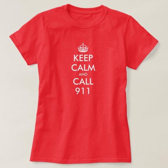 Keep Calm shirt for women | Keep calm