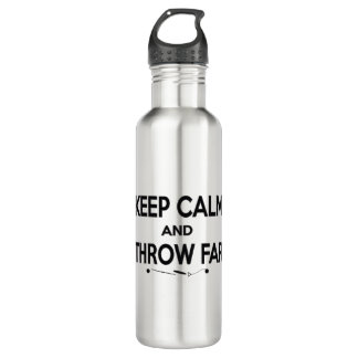 Keep Calm Shot Put Discus Hammer Water Bottle 710 Ml Water Bottle