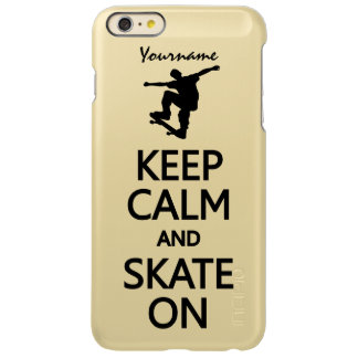 Keep Calm & Skate On custom cases
