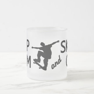 Keep Calm & Skate On mug - choose style, color