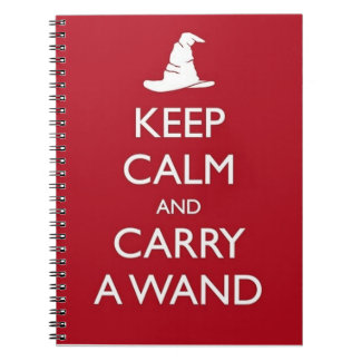 Keep Calm Spiral Note Book