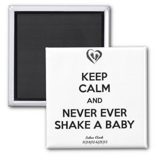 Keep Calm Square Magnet