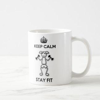 Keep Calm Stay Fit Mug