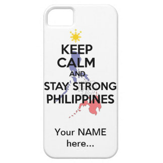 Keep Calm Stay Strong Philippines Case For The iPhone 5
