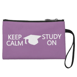 Keep Calm & Study On custom accessory bags