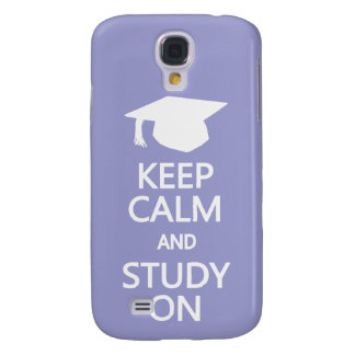 Keep Calm & Study On custom HTC case