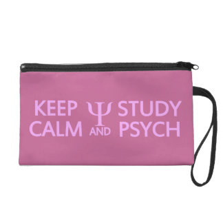 Keep Calm & Study Psych custom accessory bags