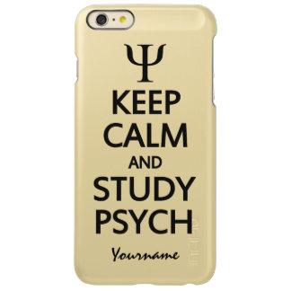Keep Calm & Study Psych custom cases