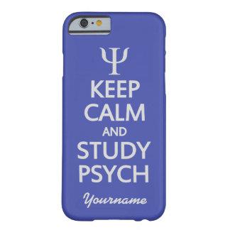 Keep Calm & Study Psych custom color & text cases