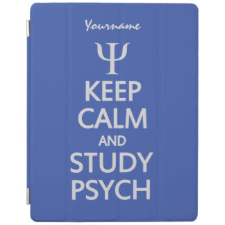 Keep Calm & Study Psych custom device covers iPad Cover