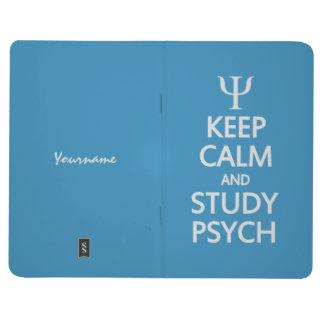 Keep Calm & Study Psych custom pocket journal
