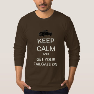 Keep Calm Tailgate Party Long-Sleeve T-Shirt